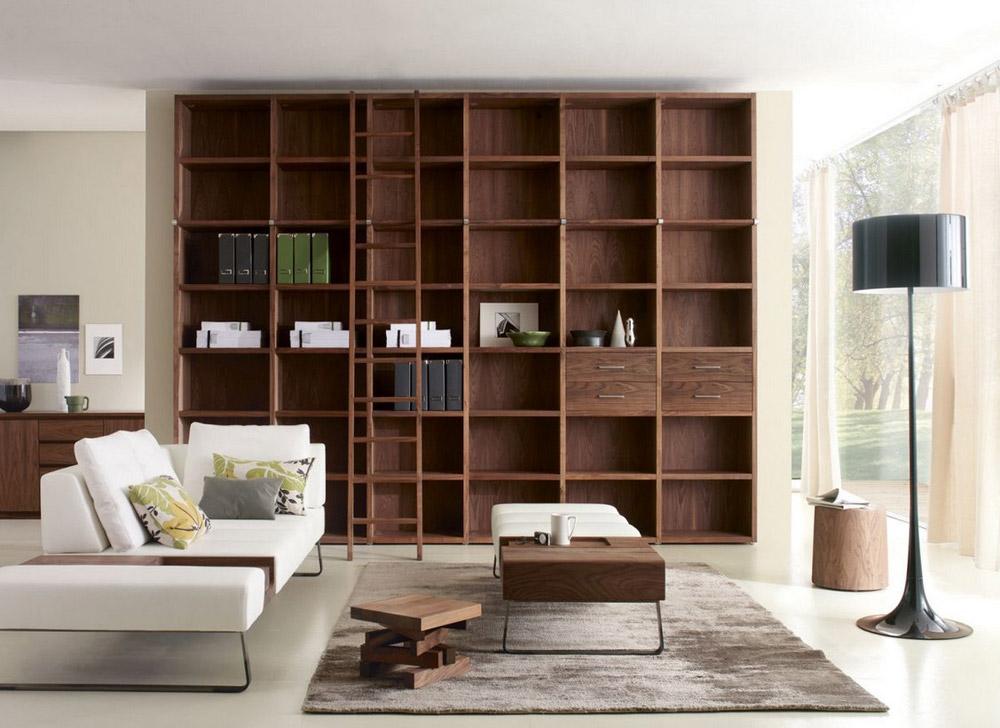 Riva mobili: librerie, vetrine per soggiorno Soluzioni D\'Interni