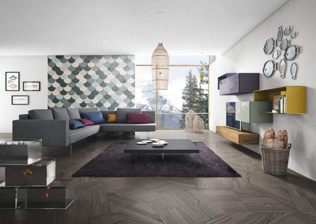 Soggiorno lago vendita soggiorni soluzioni d 39 interni - Design d interni milano ...