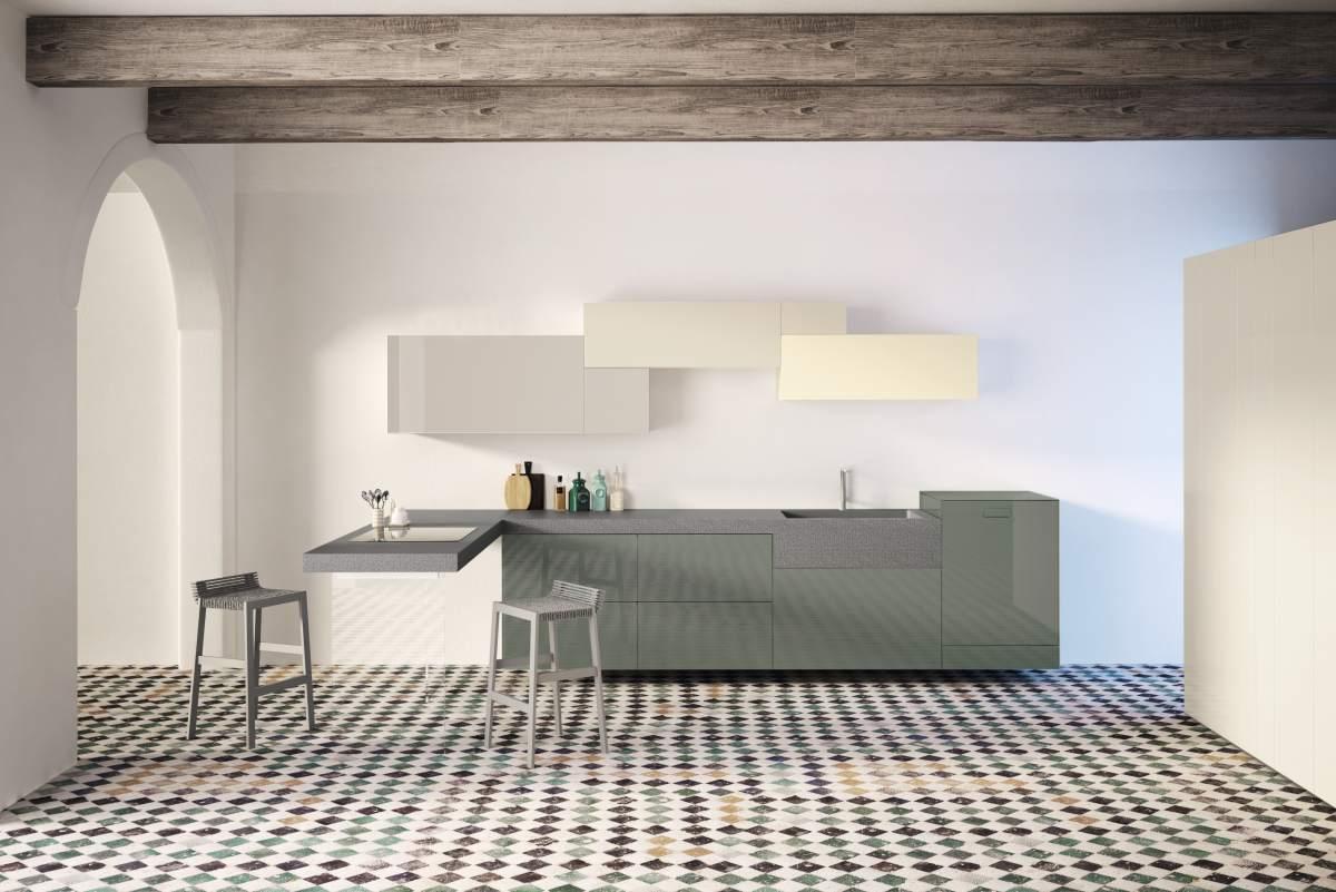 Cucine lago arredamento soluzioni d 39 interni massa carrara - Top cucina in pietra ...