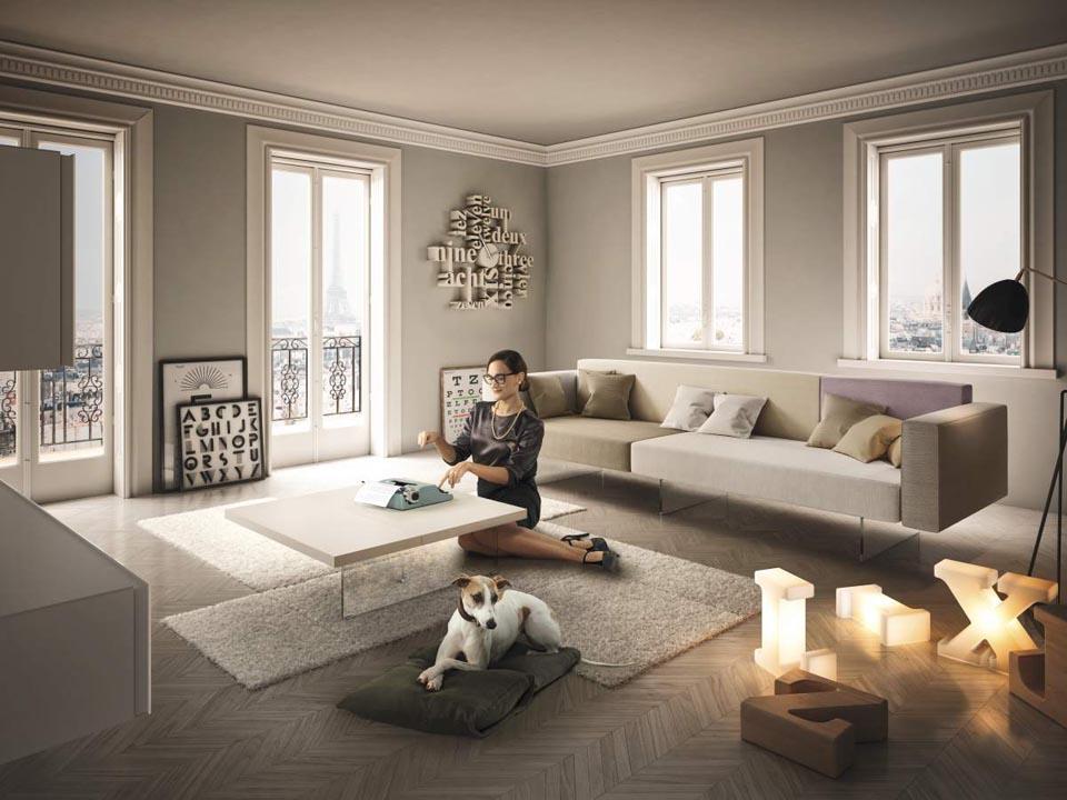 Soggiorno lago vendita soggiorni soluzioni d 39 interni for Outlet design arredamento